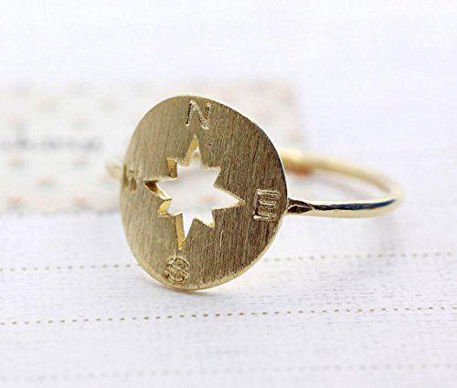 Compass Ring / Graduation Ring, Graduate Gift, Inspirational Ring, Journey, Nautical Ring, Travel Ring Compass Ring (Gold) Isola Maui http://www.amazon.com/dp/B00LYPGUW2/ref=cm_sw_r_pi_dp_2pIkub1ZJ8QAJ