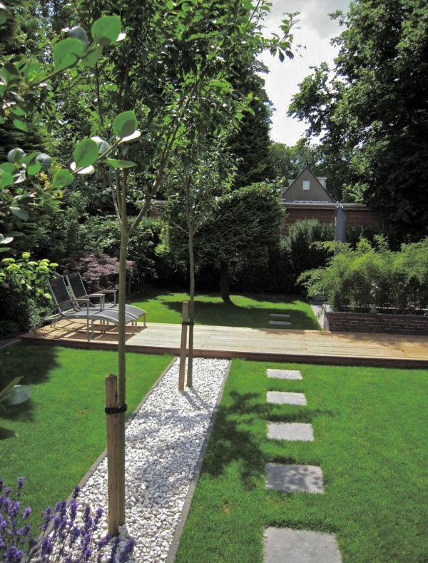 Modern klassieke tuin interieur design by nicole fleur huis pinterest gardens design - Landscaping modern huis ...