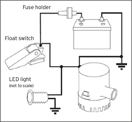 Float Switch Wiring Diagram Boat