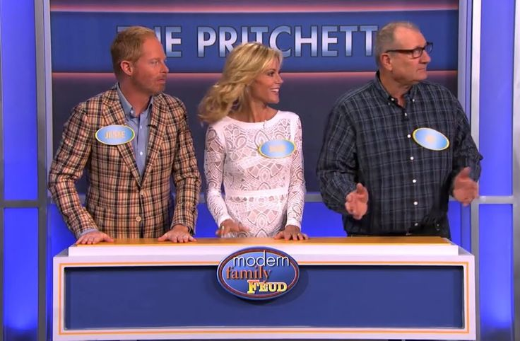 The Cast of 'Modern Family' Plays 'Family Feud' on 'Jimmy Kimmel Live'