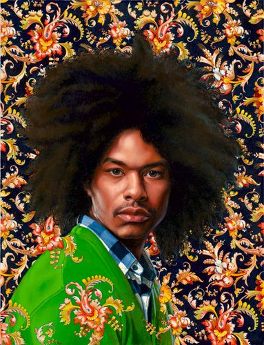 Terence Nance III by Kehinde Wiley. The 10 American Contemporary Artists You Should Know on TheCultureTrip.com. Click the image to read the article. (Image via kehindewiley.com).
