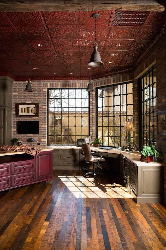 Best 25 Rustic Home Offices Ideas On Pinterest