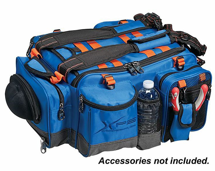 Xps stalker tackle bag or system bass pro shops for Pro fishing gear