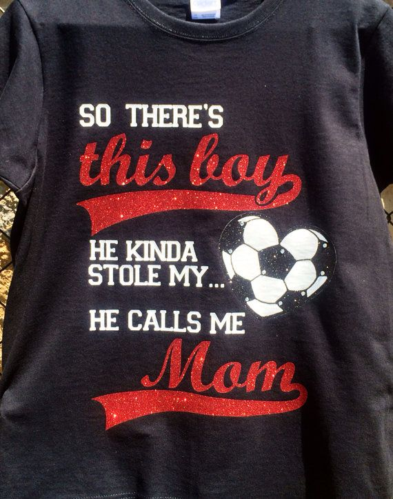 So there's this boy Soccer Shirt by TeamSpiritShoppe on Etsy