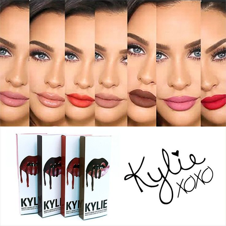 The Kylie LipKit is your secret weapon to create the perfect 'Kylie Lip.' Each Lip Kit comes with a Matte Liquid Lipstick and matching Lip Liner. Koko K is a pale pink. Posie K is a cool mid-tone berr