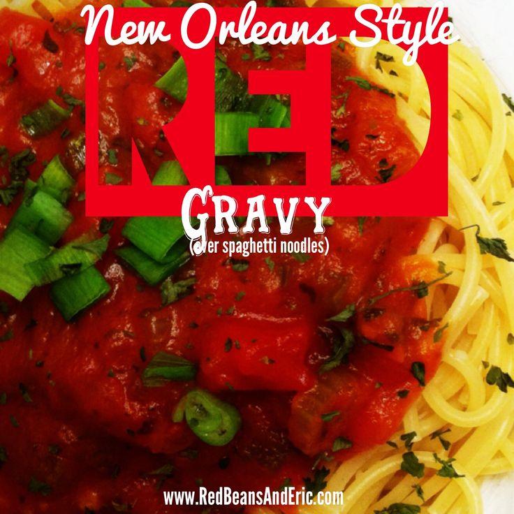 New orleans red gravy
