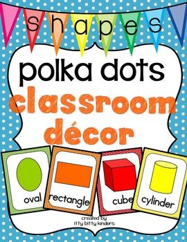 This set includes posters for easy and quick identification of 2 and 3 dimensional shapes. It can be used as a visual reference for the students in your classroom and displayed all year long. We have included two different sizes for your convenience: full-page (large posters) and half-page (small posters).