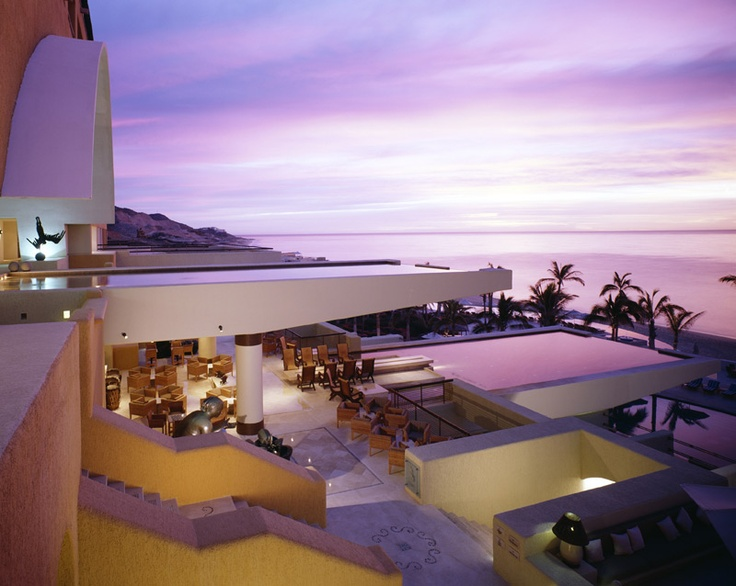 Secrets Marquis Los Cabos - Balconies throughout the resort offer views of the Sea of Cortes.