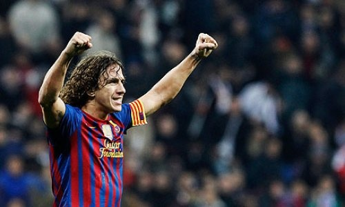 Carles Puyol will miss the Copa del Rey final and the Euro 2012 because of a knee injury. Get well soon Puyol! :)