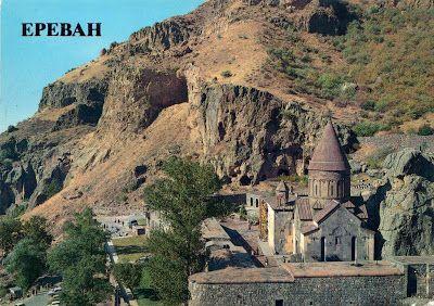 "ARMENIA - Monastery of Geghard - part of ""Monastery of Geghard and the Upper Azat Valley"" (UNESCO WHS)"