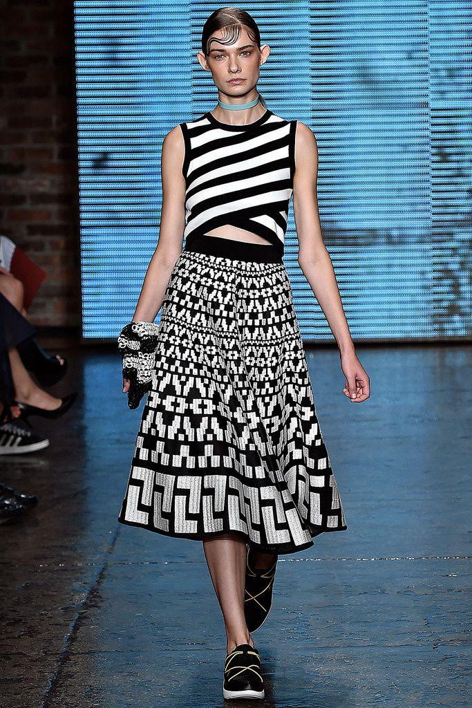 DKNY Pret A Porter S/S 2015 Pasarela Nueva York