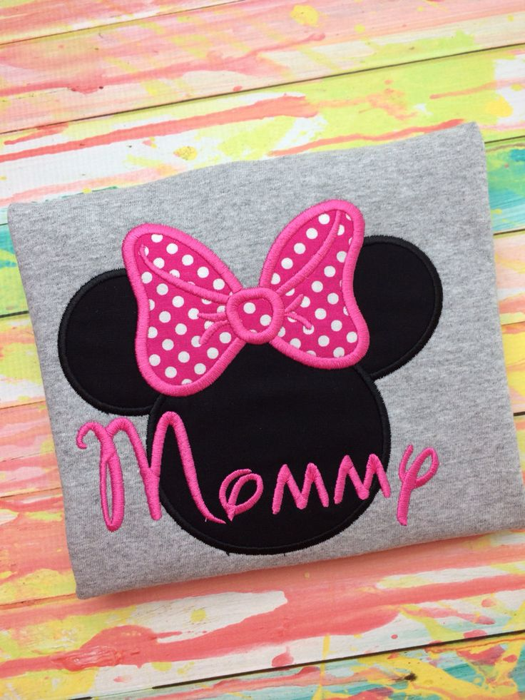 Minnie Mouse shirt / Adult Minnie Mouse shirt by MajorMonograms, $23.00