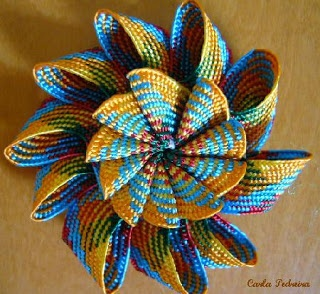 flor dupla de sianinha