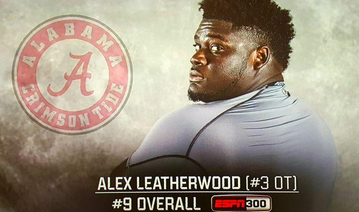 Alex Leatherwood, 5-star OT 2017 verbal commit to Alabama #Alabama #RollTide #Bama #BuiltByBama #RTR #CrimsonTide #RammerJammer