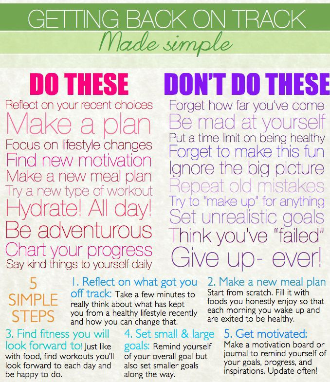 These are great things to remember!