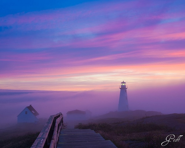 Fogged in at Cape Spear by gwhiteway, via Flickr