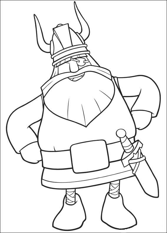 vicky el vikingo 10 dibujos faciles para dibujar para
