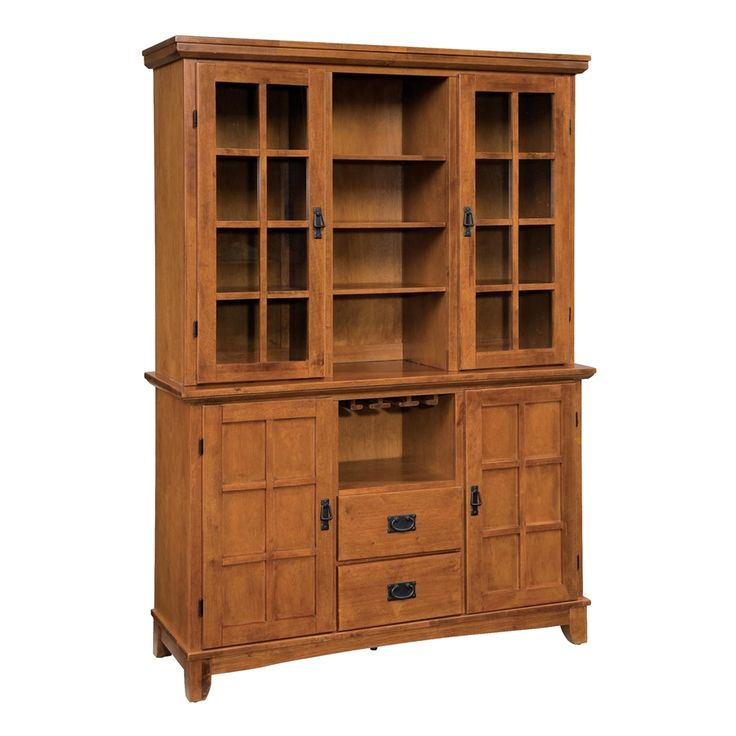 Shop Home Styles  5180-697 Arts & Crafts Dining Buffet with Hutch at The Mine. Browse our buffets, sideboards & hutches, all with free shipping and best price guaranteed.