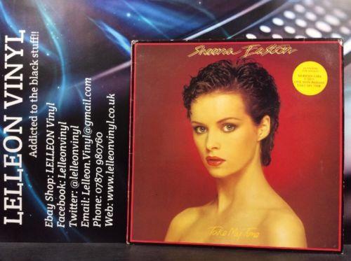 Sheena Easton Take My Time LP Vinyl Record EMC3354 A1U/B1U Pop 80's Music:Records:Albums/ LPs:Pop:1980s