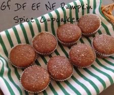 Pumpkin Spice Cupcakes (allergy friendly) by ThermoFlavour #ThermomixBakeOff