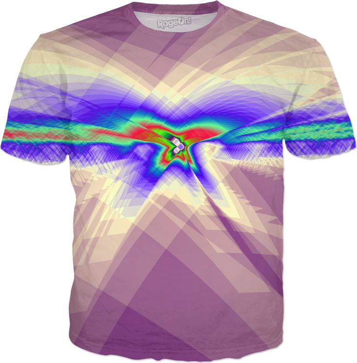 Erratic Flight in Purple T-Shirt by Terrella and other items featuring this design are available at   https://www.rageon.com/products/erratic-flight-in-purple?aff=BSDc on RageOn!