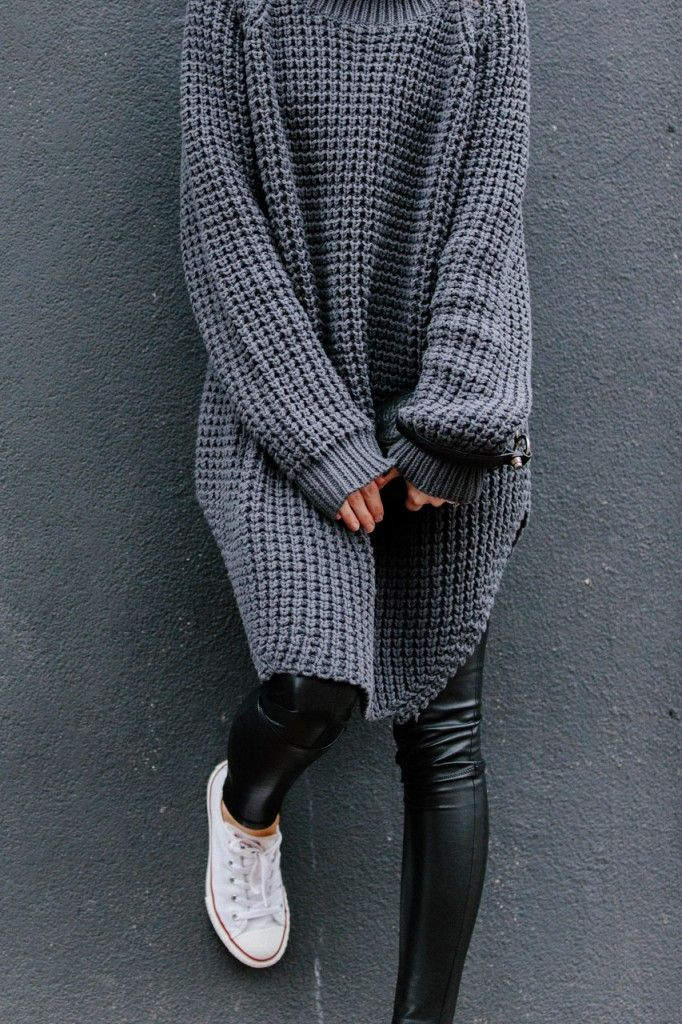Minimal + Classic: Hope sweater & Converse/ figtny.com | outfit • 42…