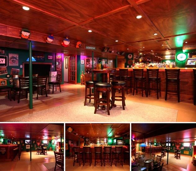 Every Manu0027s Dream Bar. Basement Bar · Basement BarsBasement  IdeasEntertainment ...