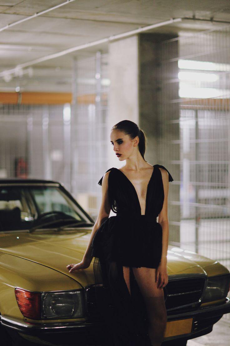 mod: Dominika Robak| D'vision cover photoshoot for Mess Magazine