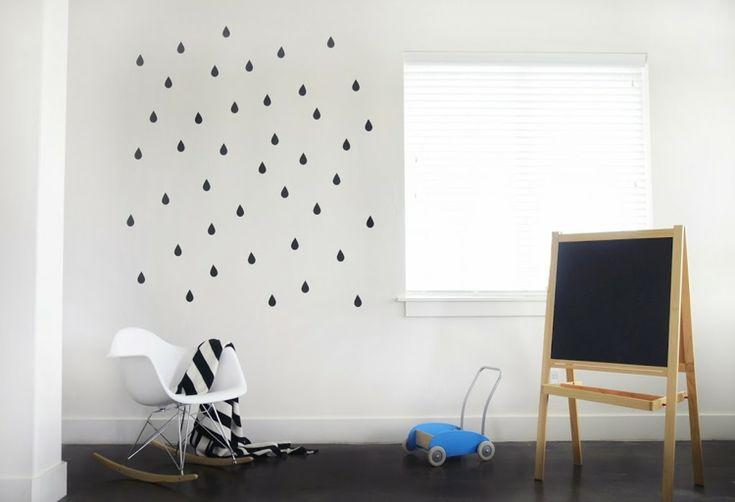 Stickers muraux super cool en 50 photos pour personnaliser les murs