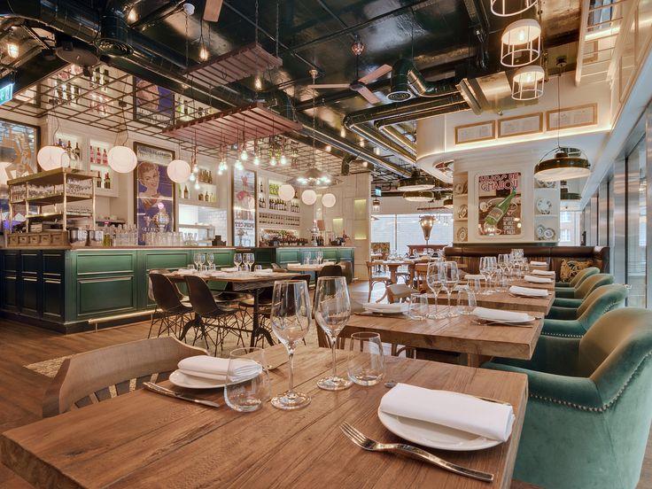 2016 Restaurant & Bar Design Awards Announced,Iberica (Victoria, London, UK) / Lazaro Rosa Violan Studio. Image Courtesy of The Restaurant & Bar Design Awards
