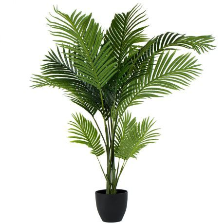 120cm Artificial Large Paradise Palm Bundle Green Tropical Fern Leaves