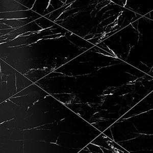 Black Black Honed 18x18 Marble Tile In 2020 Black Marble Tile Marble Tile Honed Marble Tiles