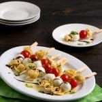 Tortellini Antipasto Skewers Appetizer Recipe