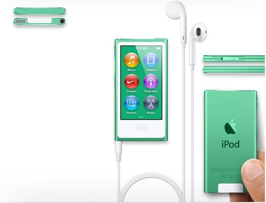 iPod Nano APPLE iPod Nano VII 16 Go #vert #green