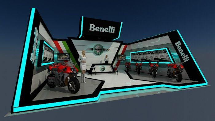 Propose Benelli Booth by Rijal Amam at Coroflot.com