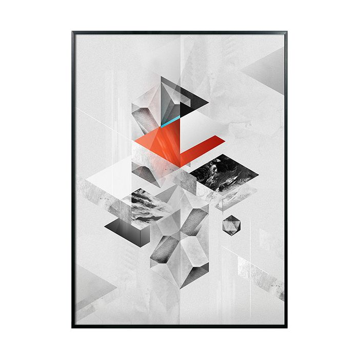 geometric, interior, printlove, www.printlove.pl