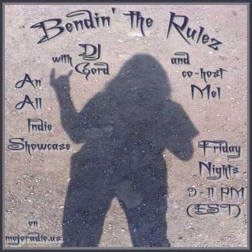 ARE YOU READY TO ROCK! Please join Dj Gordon& Mel for Bendin'The Rulez on www.mojoradio.us from 9-11PMEst!  Tonight Friday October 9, 2015!  Found on Timmy Jay's homepage and shared from Mel Mysteria M