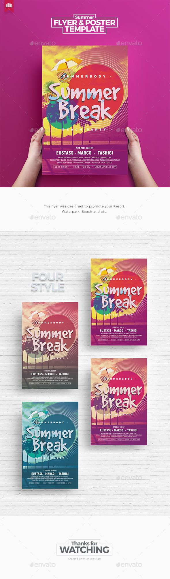 17 best ideas about flyer templates summer break flyer template