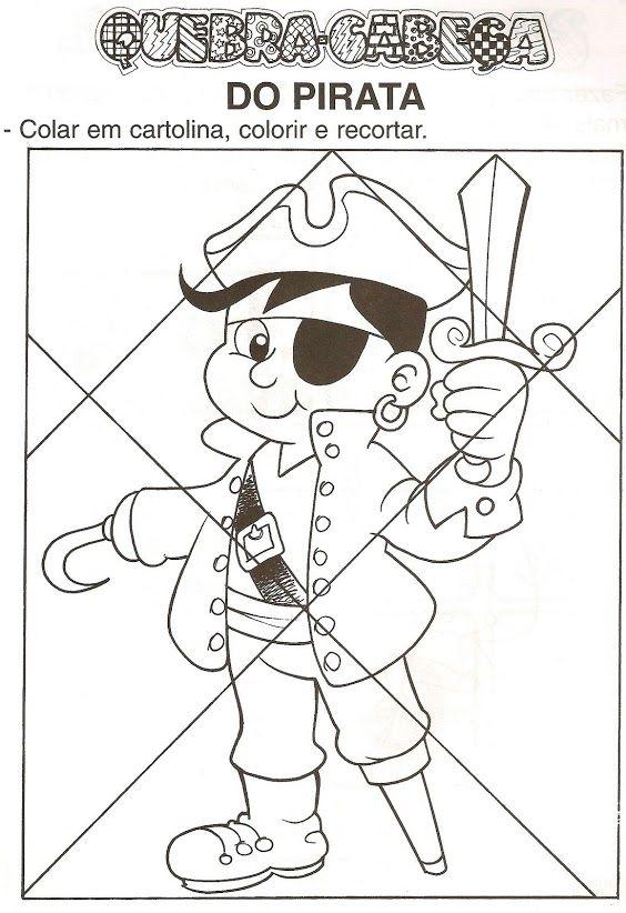 Thema piraten : puzzel