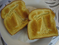 French toast...literally!