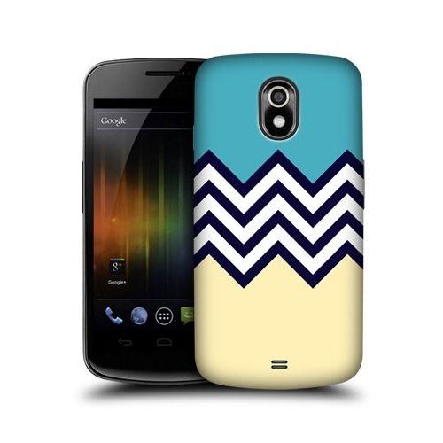 Head Case Blue Cream Colour Block Chevron Case FOR Samsung Galaxy Nexus I9250 | eBay $7.72