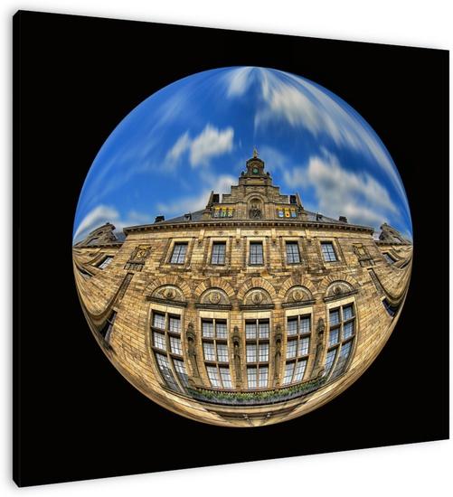 Ronde gevel stadhuis Rotterdam Bram van Eijk (A. van Eijk Fotografie) WWW.PIXEL2PICTURE.NL