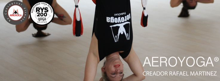 AeroYoga® by Rafael Martínez.  International TeacherTraining #aeroyoga #aeropilates #aerofitness #aerialyoga #trapeze #gravity #gravedad #aeropilatescursos #aeroyogacursos #aeropilatesmadrid #fitness #wellness #bienestar #deporte #telas #silks #fly #flying #weloveflying