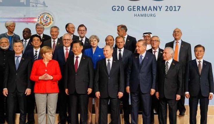 Em documento final, G20 isola EUA ao afirmar que Acordo de Paris é irreversível. Reunidos em Hamburgo, na Alemanha, para discutir os principais desafios eco