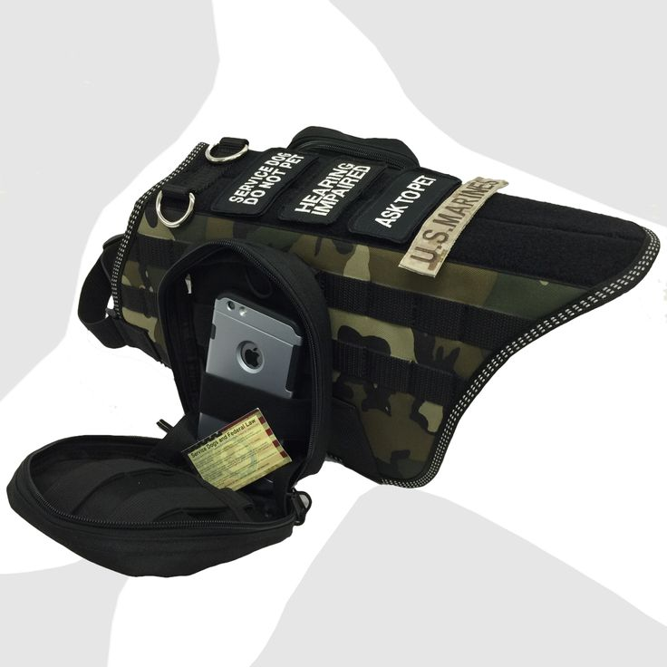 Service Dog Harness With Velcro