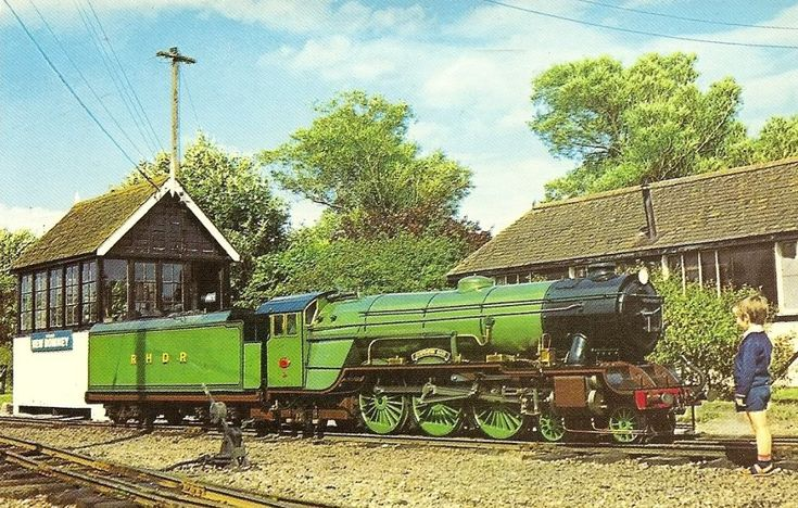 The Romney, Hythe & Dymchurch railway holds happy childhood memories for me. We visited a few times when we still lived in Surrey.