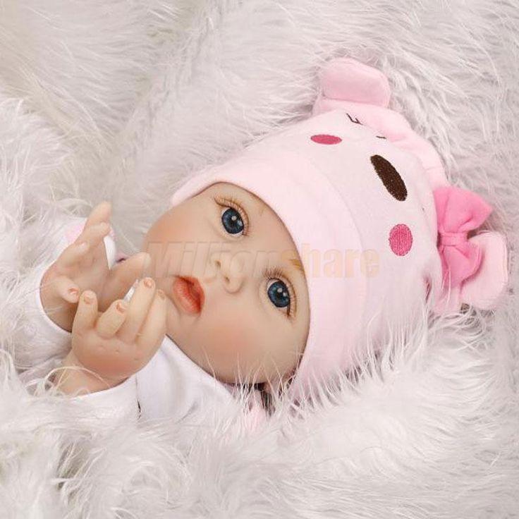 22'' Lifelike Baby Newborn Silicone Vinyl Reborn Doll Gift Baby Dolls Handmade | Dolls & Bears, Dolls, Reborn | eBay!
