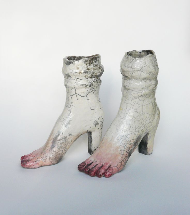 Pieds ( mémoire cellulaire ) - Lidia Kostanek - céramique contemporaine