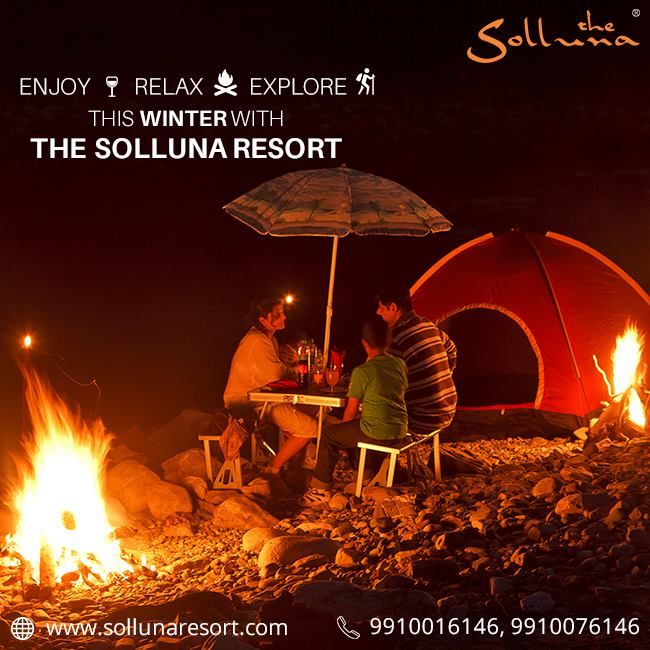 Experience adventure, peace and wildlife action at Jim Corbett this Winter!! To book a comfortable & cozy stay at The Solluna Resort. Call on +91 9910016146  Use coupon code - DETOX2017