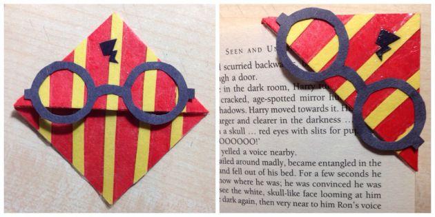 Harry Potter bookmark DIY